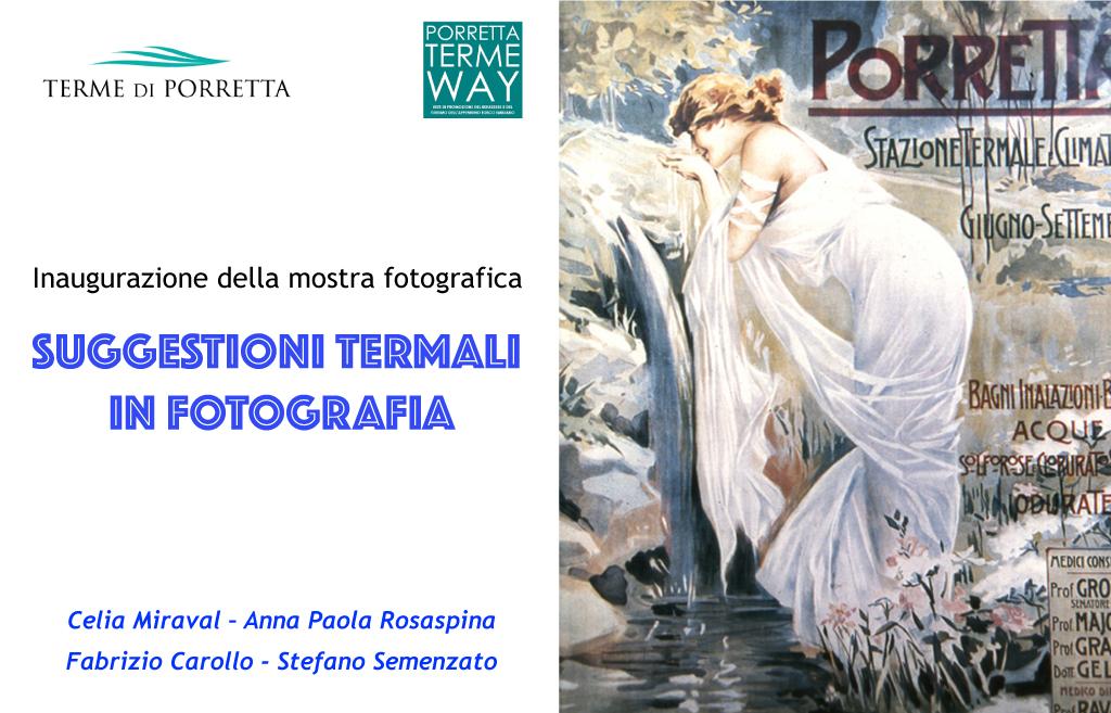 Inaugurazione della mostra fotografica – SUGGESTIONI TERMALI IN FOTOGRAFIA